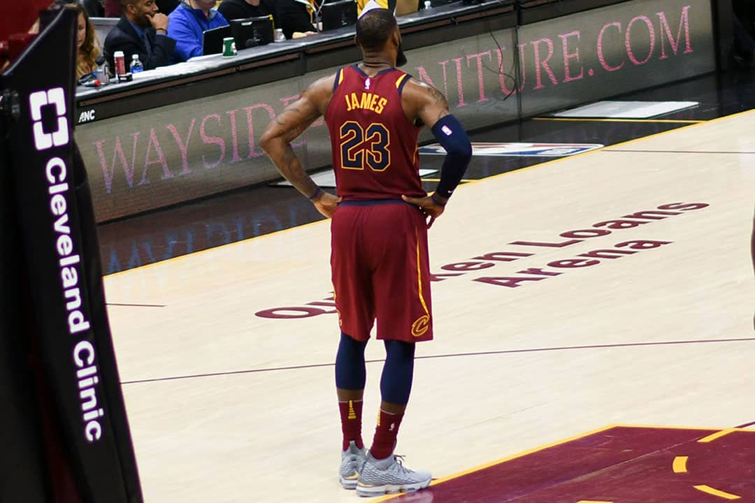 LeBron has expressed frustration about media scrutiny over in-game mistakes.  ERIK DROST/CC FLICKR
