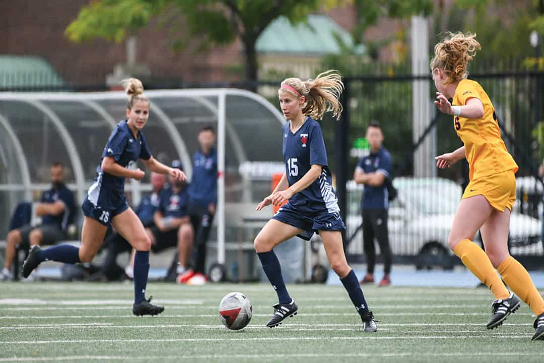 Blues women's soccer weekend recap