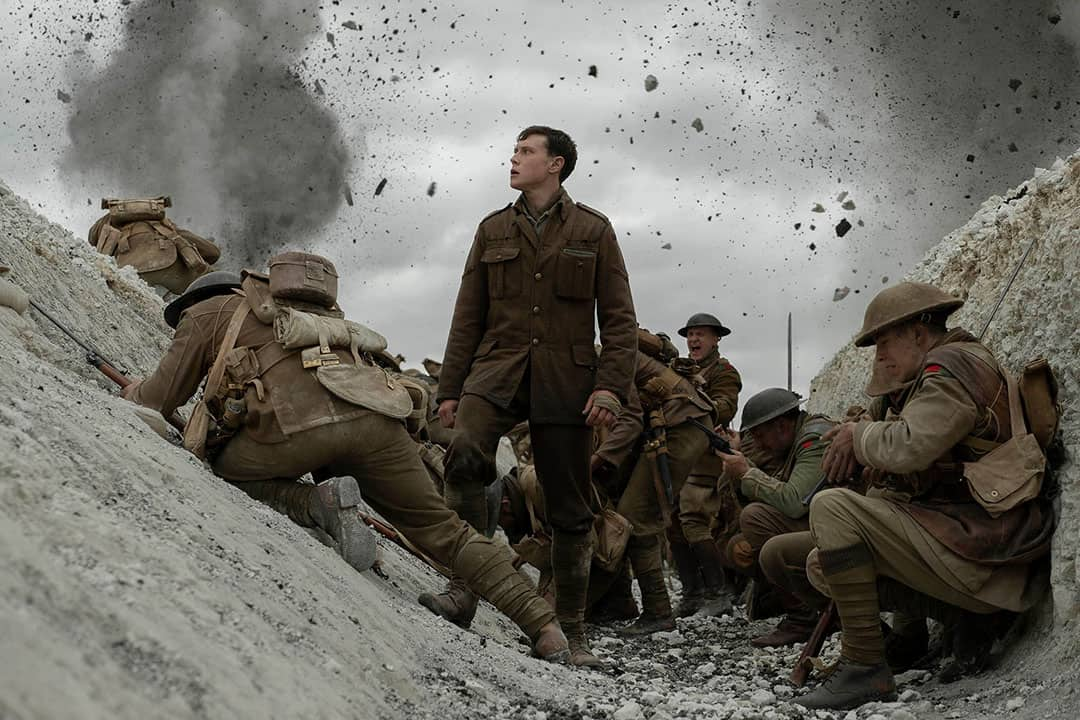 1917 is riddled with breathtaking filmography and clever scene composition. Courtesy of FRANCOIS DUHAMEL/UNIVERSAL PICTURES