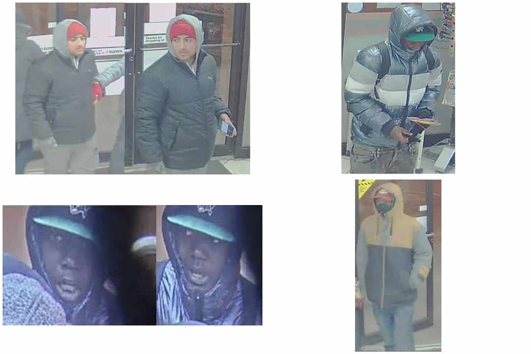 Three suspects are still at large. COURTESY OF TORONTO POLICE SERVICE