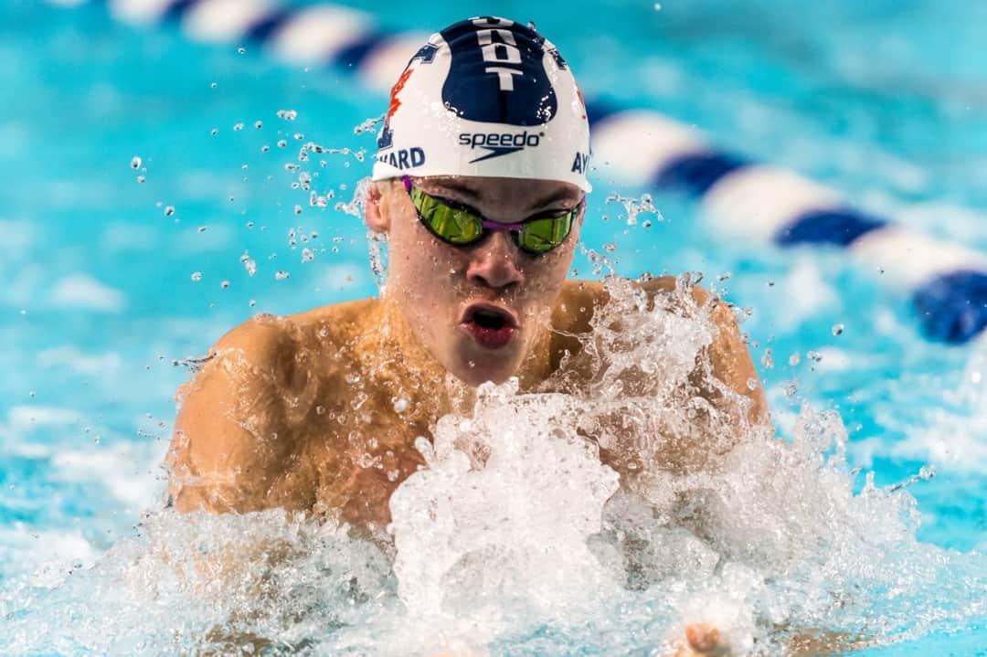 The swim team found success at the Fairweather Division Championships. COURTESY OF SEYRAN MAMMADOV/VARSITY BLUES