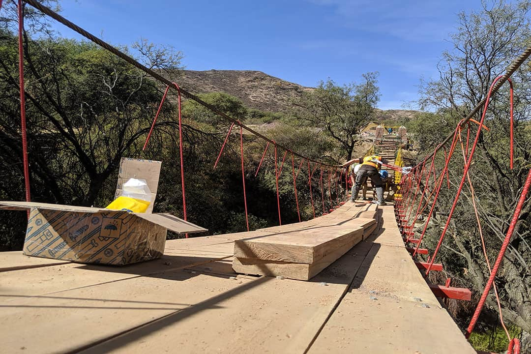 The project aimed to be beneficial for the Bolivians, and also provide a positive learning opportunity for the students. COURTESY OF ENGINEERS IN ACTION U OF T CHAPTER