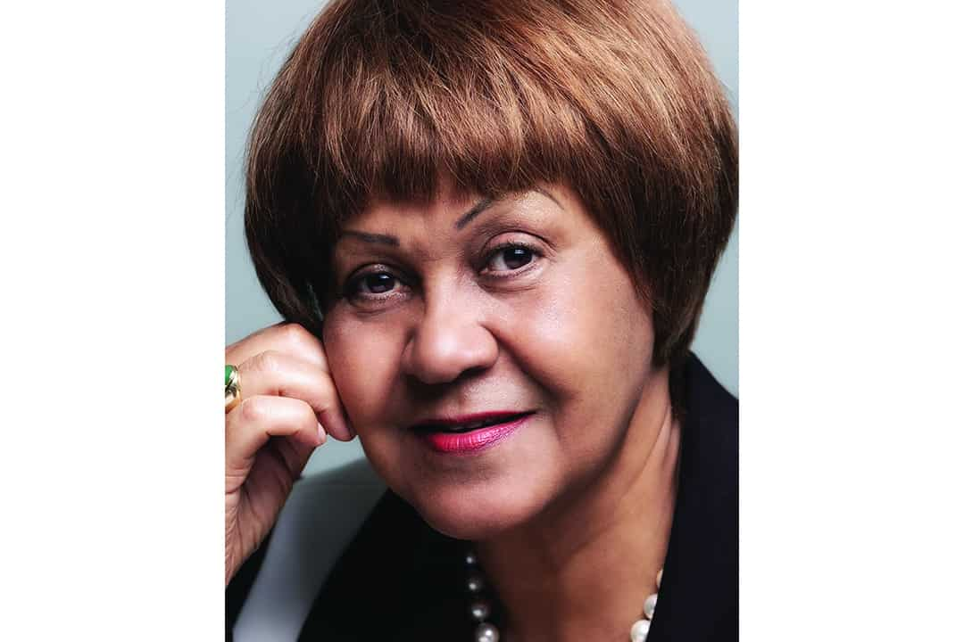 Dr. Connie Carter, born in  Jamaica, created  the scholarship  to support students  from CARICOM. COURTESY OF MAO OUYANG