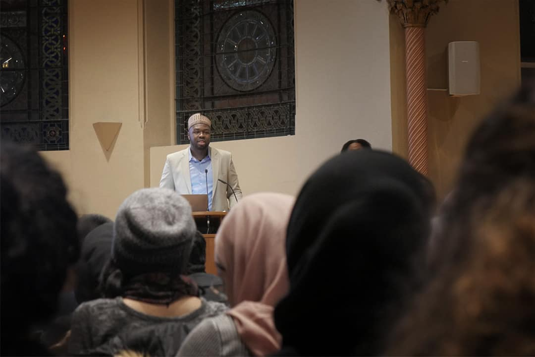 Mustafa Briggs seeks to challenge popular narratives about Islam in the Americas in his new lecture series. COURTESY OF MAEESHA MAHBUB/U OF T MSA | IMAGE HAS BEEN CROPPED