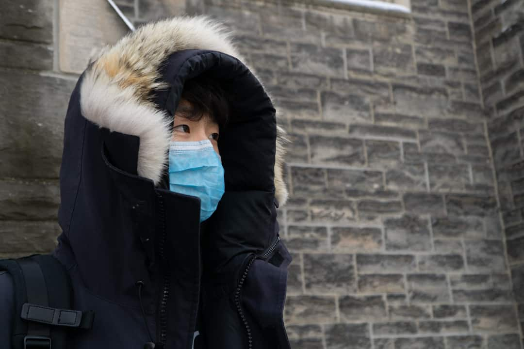 Face masks have been in high demand since the virus outbreak.  SAMANTHA YAO/THE VARSITY