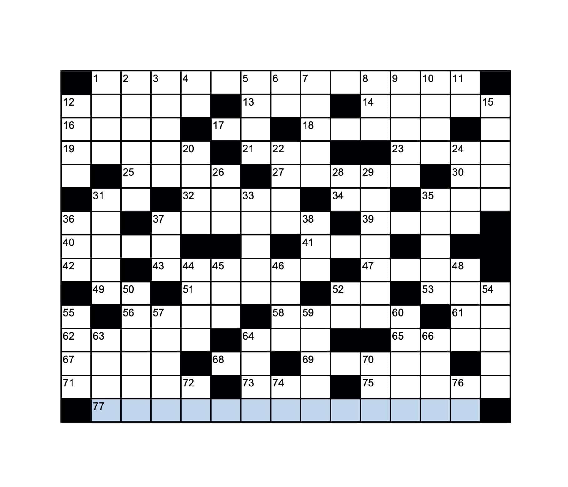 crossword 6