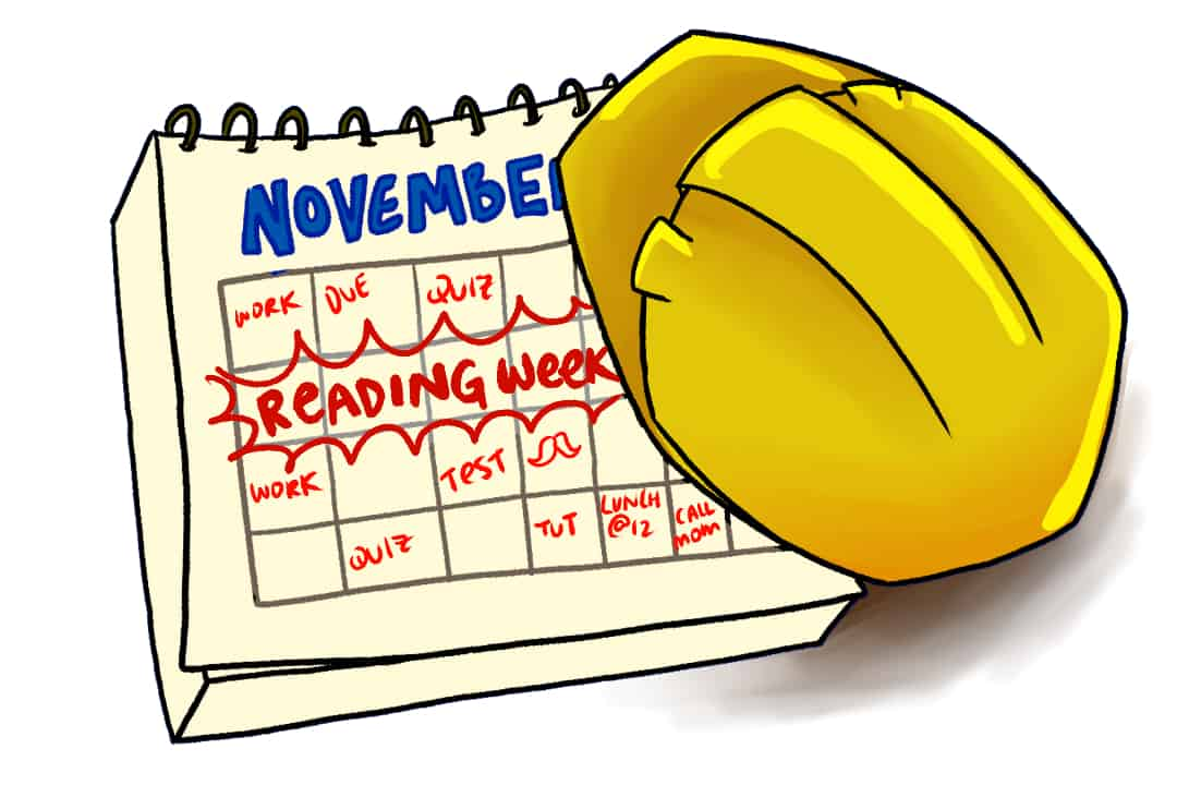 Undergraduate students in the Faculty of Engineering will have a fall reading week beginning November 2020 FIONA TUNG/THE VARSITY