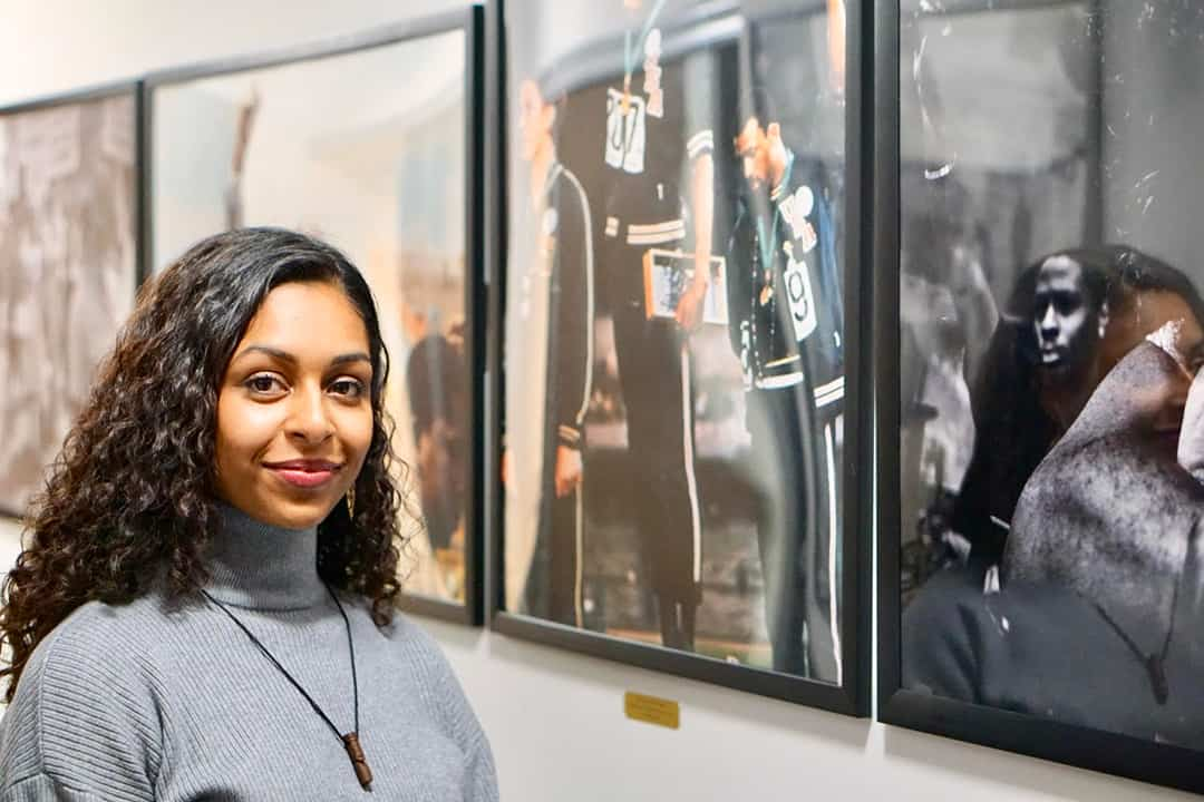 Seana Adams is the co-founder of Mental Health in the Black Community, a speaker series in which experts discuss the mental health issues facing the Black community. COURTESY OF SEMIR BULLE/UNIVERSITY OF TORONTO BLACK MEDICAL STUDENTS ASSOCIATION