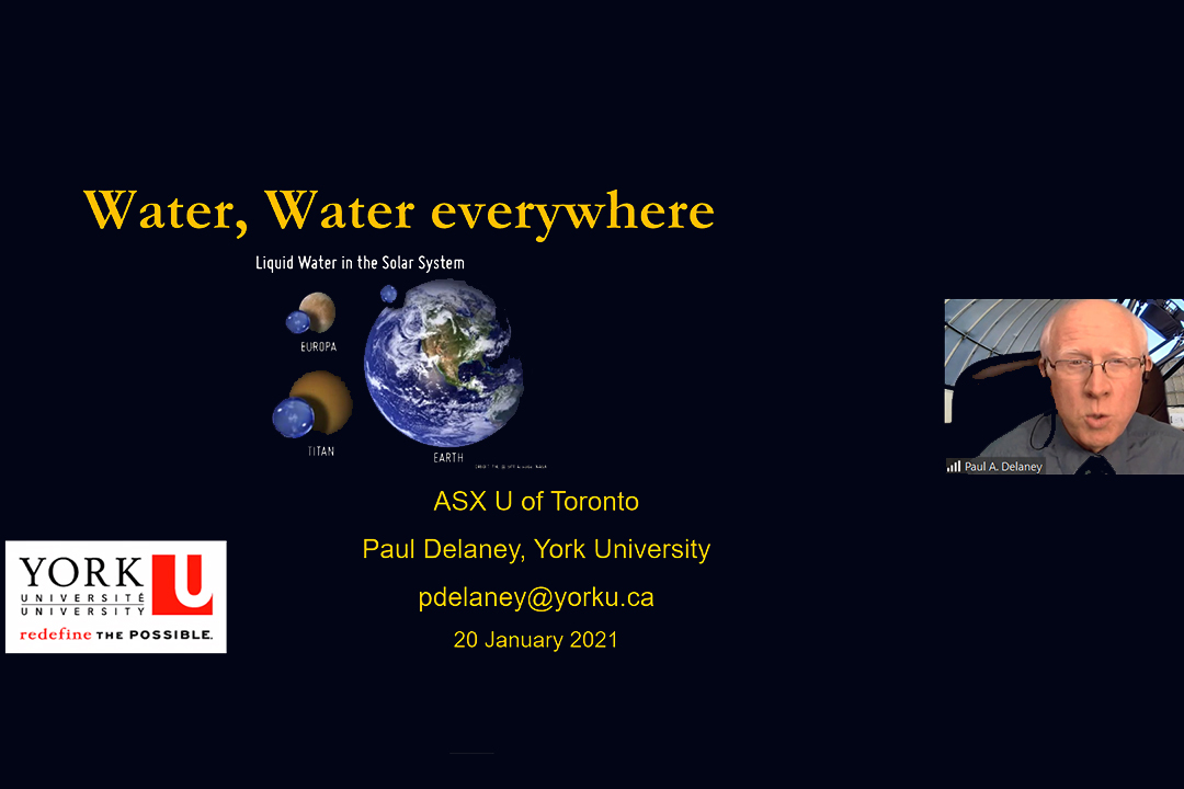 The possibility – and importance – of finding water on other planets – The university